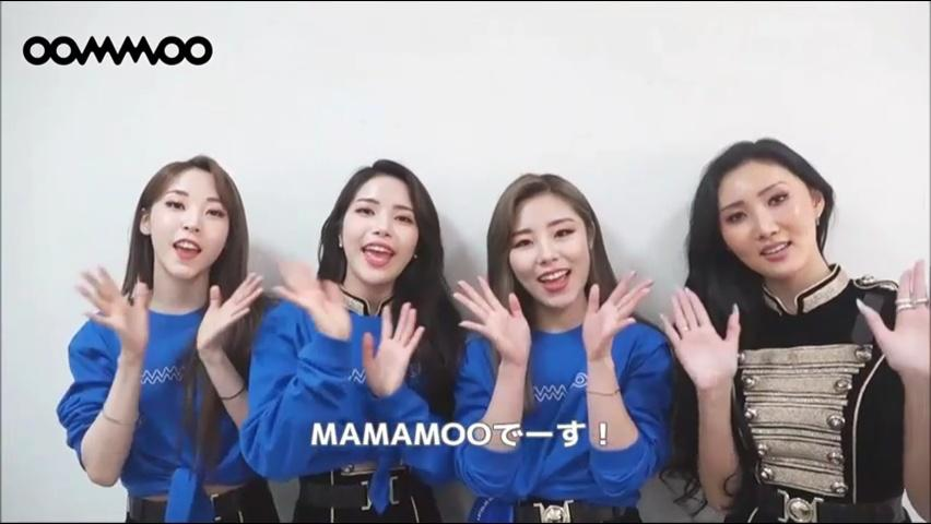 "『MAMAMOO SHOWCASE LIVE TOUR IN JAPAN ""BACK STAGE!""』を終えて"